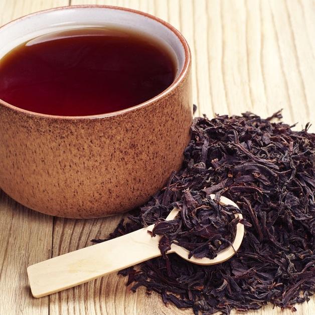 Recette coloration maison thé noir