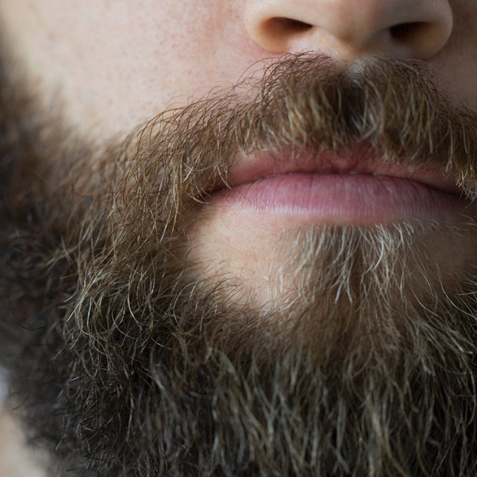 Teindre barbe