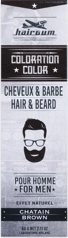 Teinture barbe Hairgum