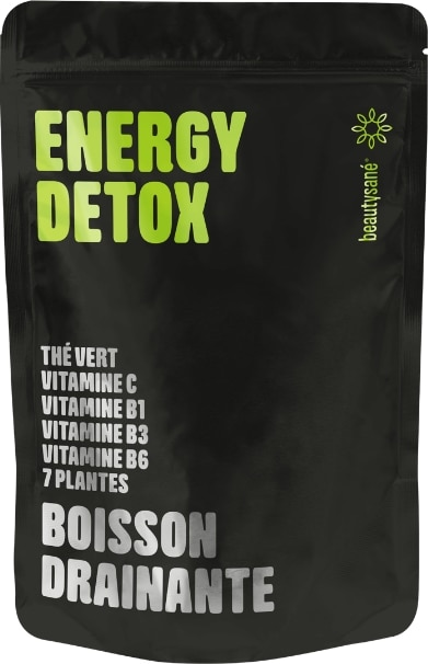 Boisson drainante Energy Detox de Beautysane