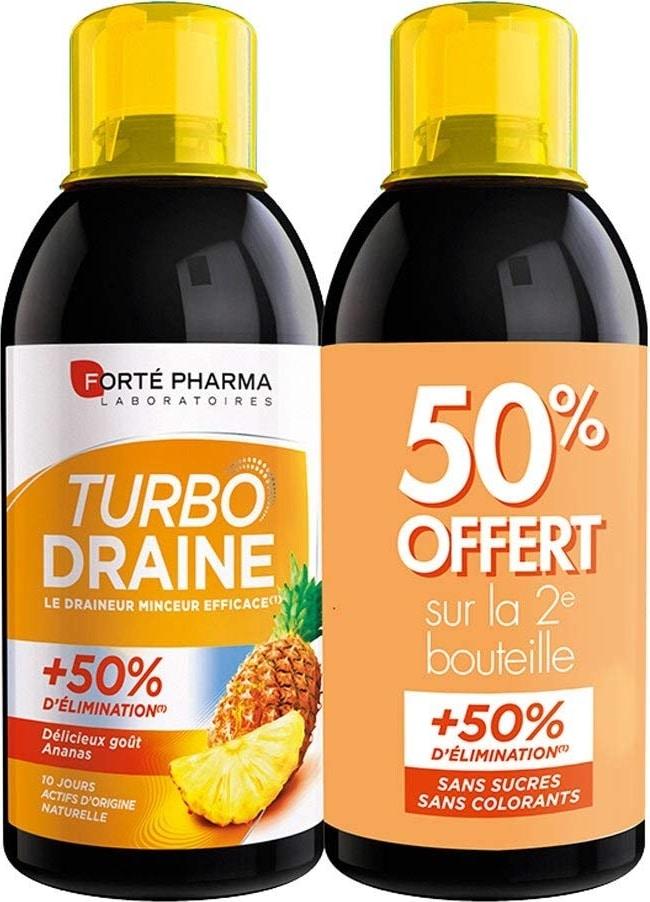 Boisson drainante Turbo Draine de Forté Pharma