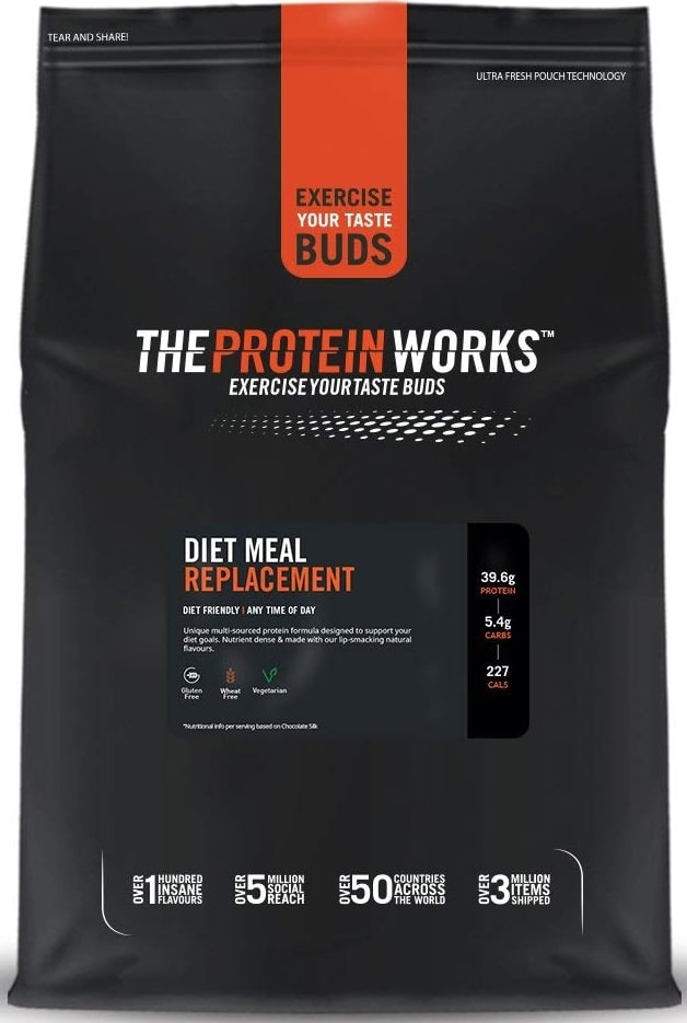 Repas en poudre The Protein Works
