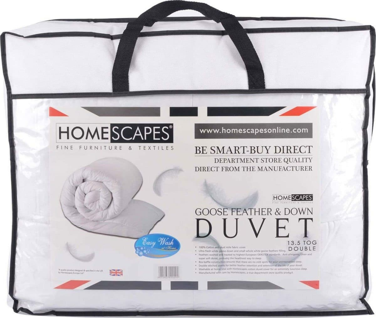 Marque couette Homescapes
