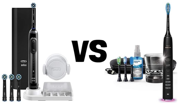 Oral B VS Philips Sonicare différences