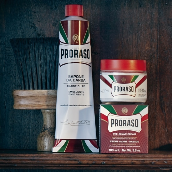 Proraso Red vs Green avis