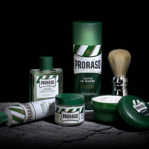 Proraso Red vs Green caractéristiques