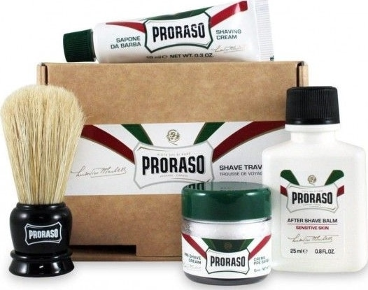 Proraso Red vs Green lequel choisir