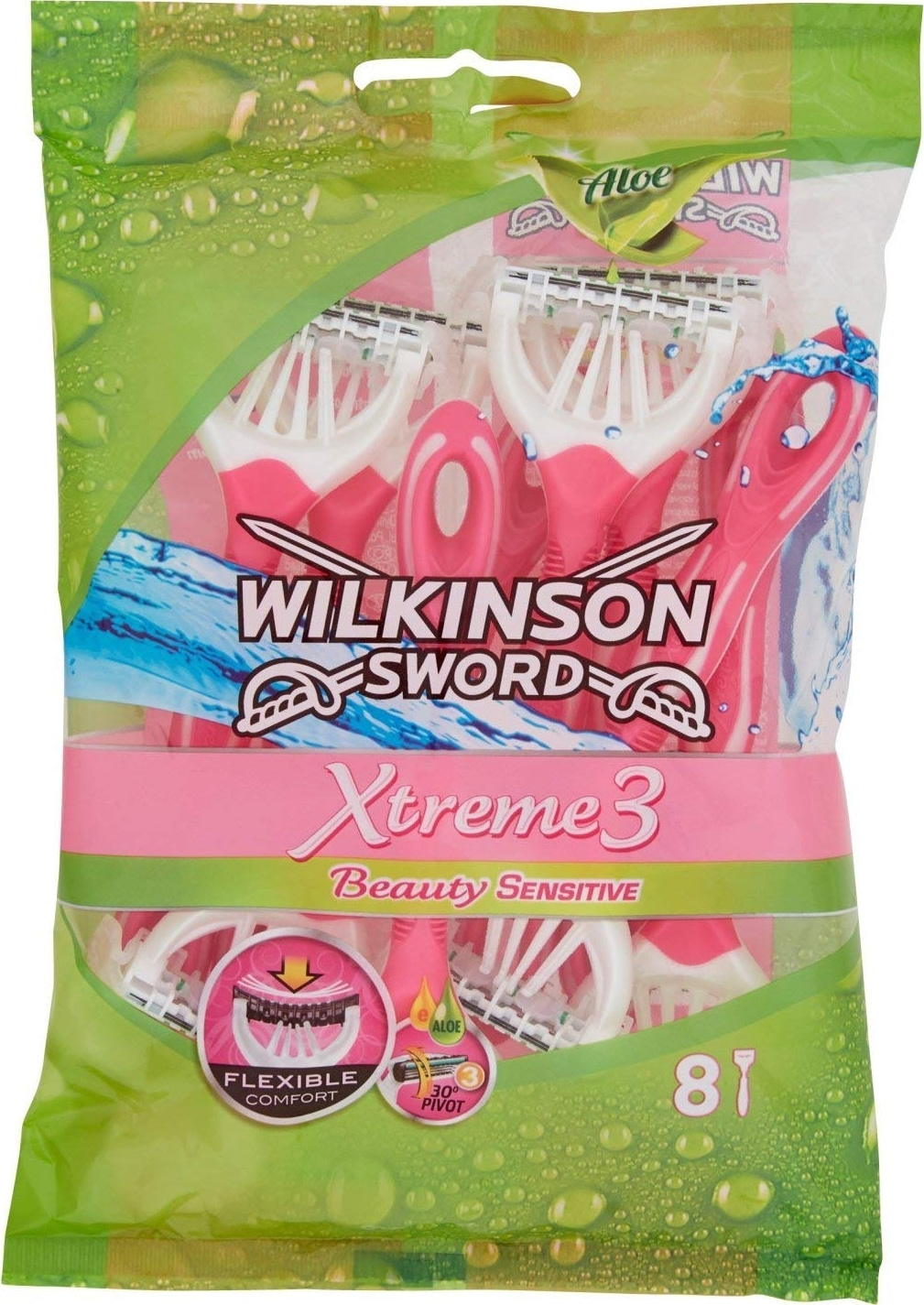 Rasoir manuel femme Wilkinson Xtreme 3 Beauty Sensitive