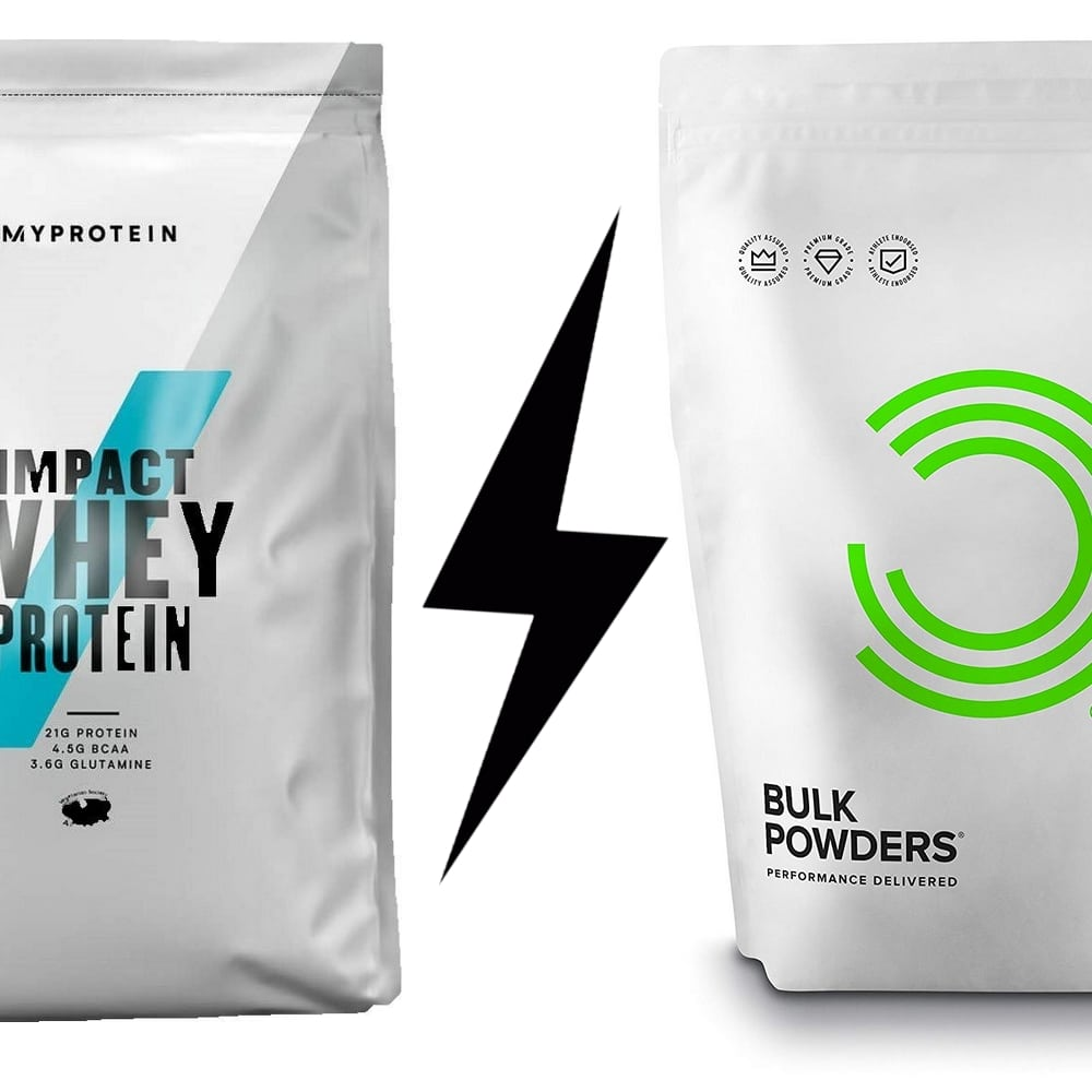 MyProtein VS Bulk Powders