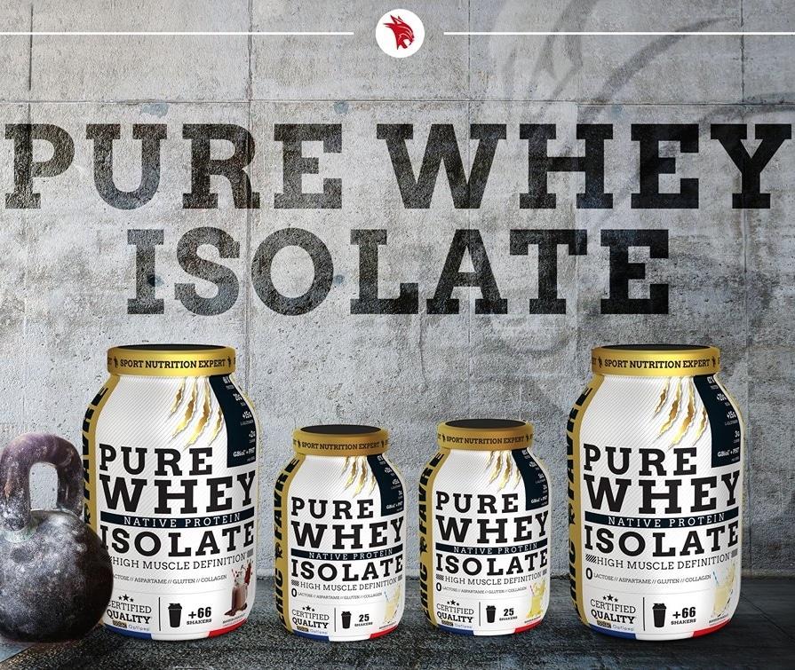 Pure Whey Isolate Eric Favre présentation