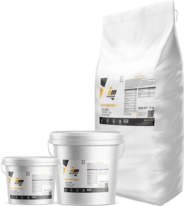 Whey française All Musculation Native Whey Isolat