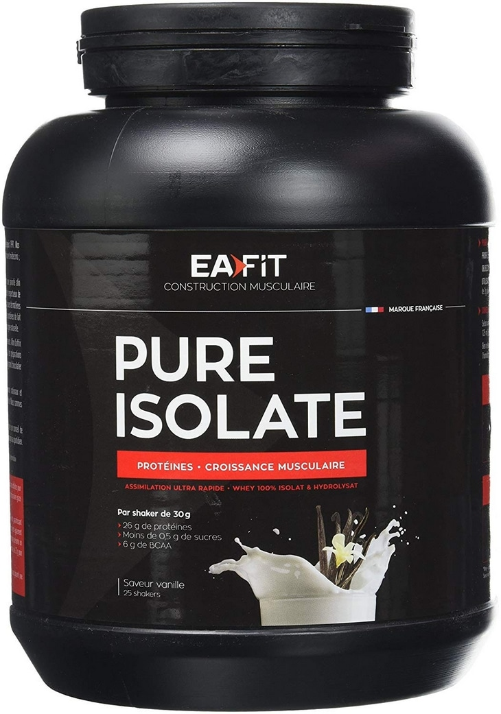 Whey française Eafit Pure Isolate