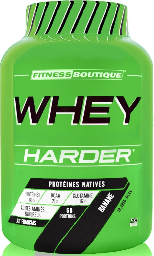 Whey française Fitness Boutique Whey Harder