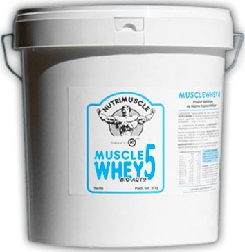 Whey française Nutrimuscle Musclewhey