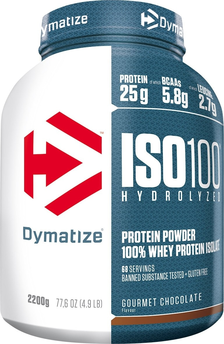 Whey isolate Dymatize Iso 100 Hydrolyzed
