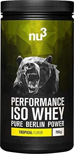 Whey isolate Nu3 Performance Iso Whey