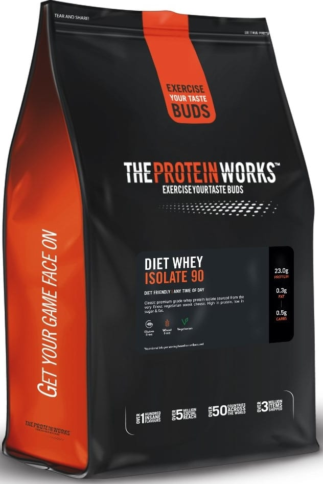 Whey isolate The Protein Works Diet Whey Isolate 90