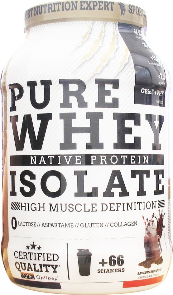 Whey sèche Eric Favre Pure 100% Isolate