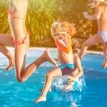 jeux a la piscine