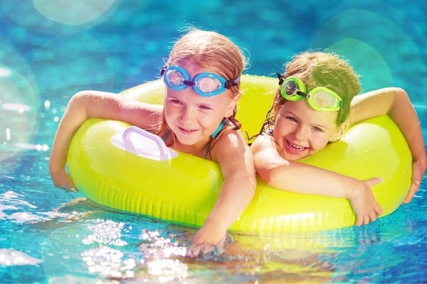 jeux piscine enfants