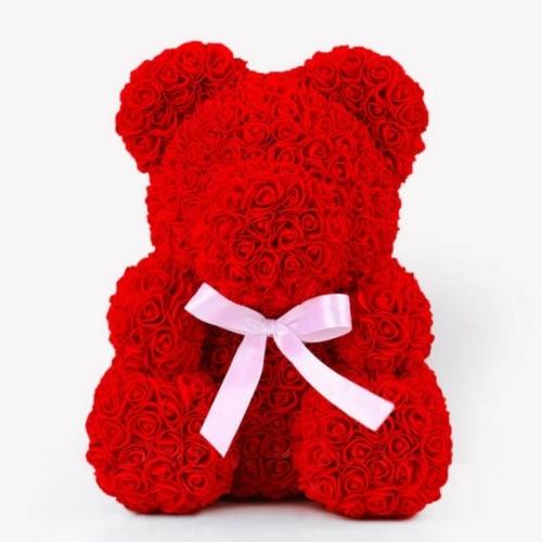 ours en rose fleur eternelle