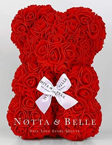 ours en rose fleur notta & belle