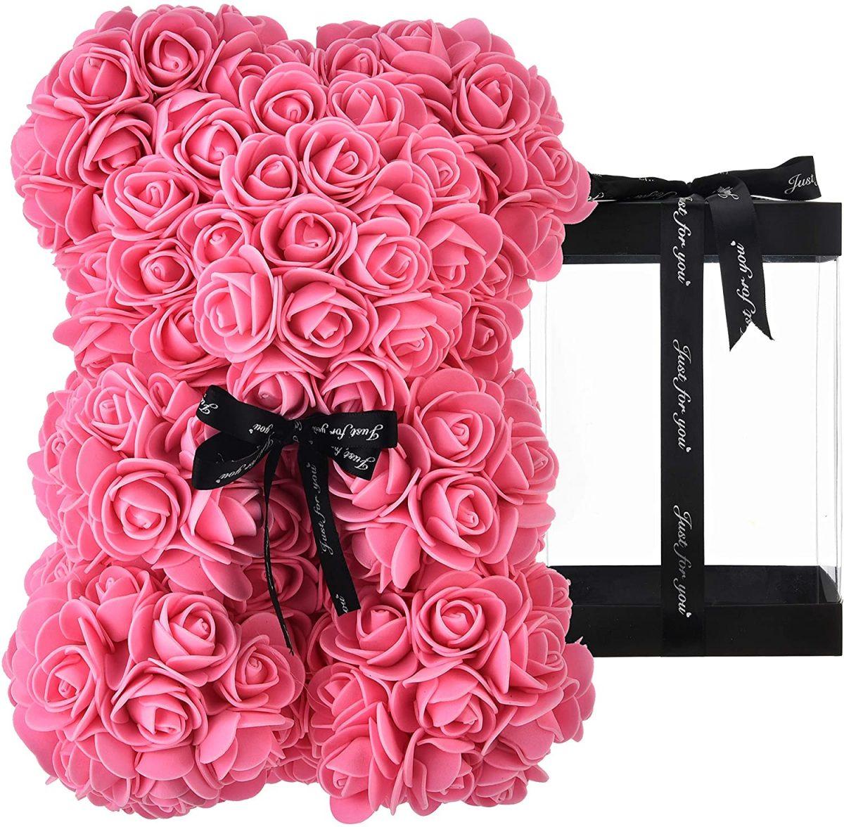 ours en rose rose teddy bear