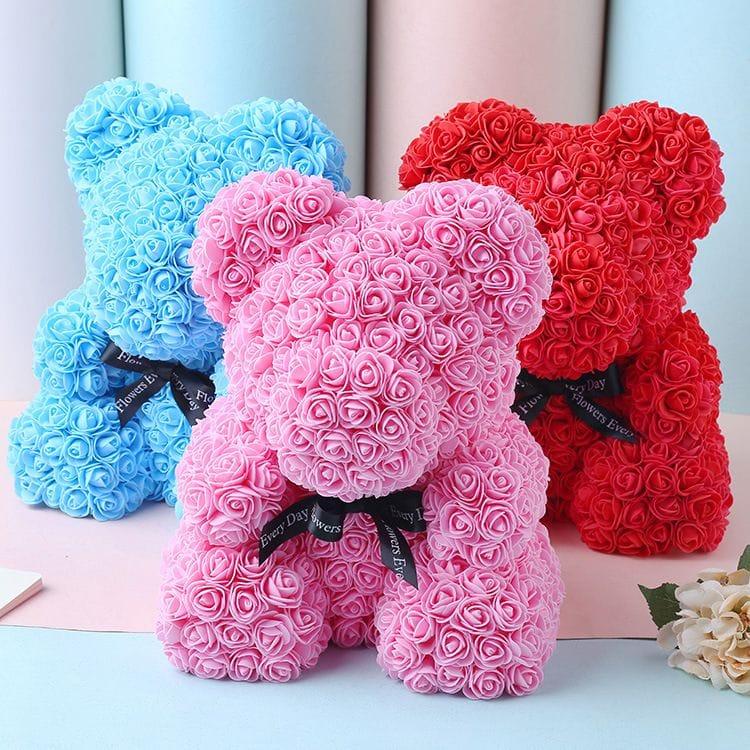ours en rose roseal cute bear