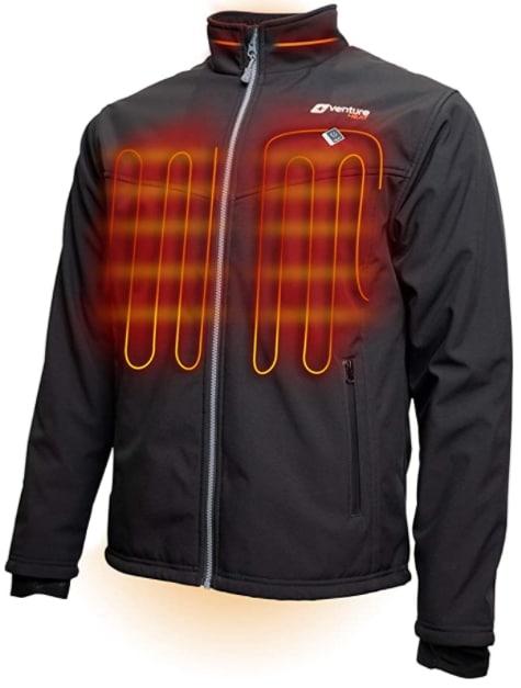 veste chauffante venture heat