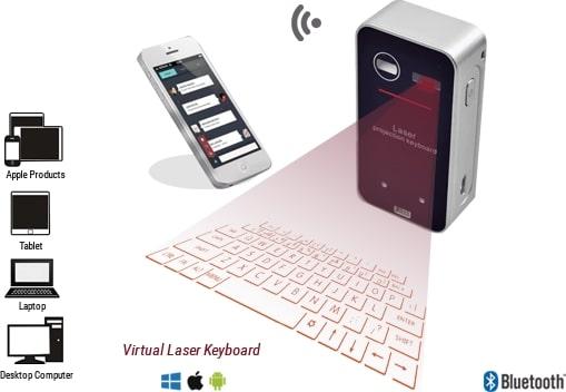 clavier laser keyless pro