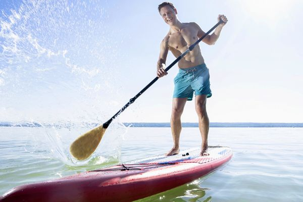 comment faire stand up paddle position